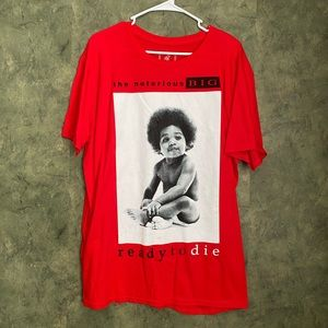 Notorious B.I.G Red Tee